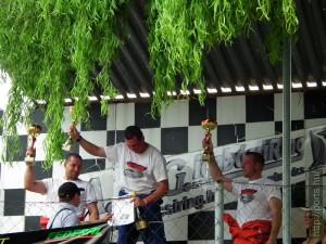 Drift bajnokság 2011. májusban a Rabócsiring Máriapócson