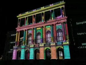 2011.06.26. Visualpower virtuális épületfestő verseny MTA épület