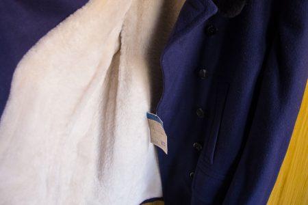 Eladó MÁV egyenruha szövetkabát belül is bélelt retro gyűjtőknek is