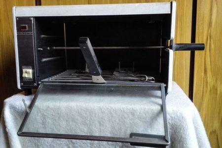 Eladó grillsütő forgónyárssal olcsón