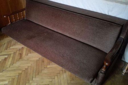 Kihúzható retro kanapé ágy nagy masszív olcsón